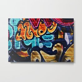 Unfinished Words Metal Print