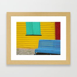 Primary Argentina Framed Art Print