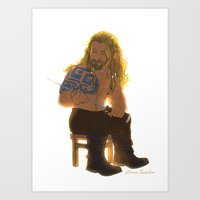 fili Art Prints featuring Fili by Luirumi