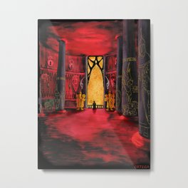Countess Ishlei. balcony scene 1 Metal Print