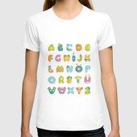 alphabet T-shirts featuring alphabet by lalehan canuyar
