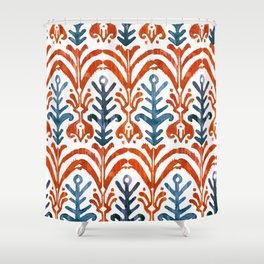 Balinese Pattern 21 Shower Curtain