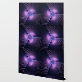 Purple Rays Wallpaper