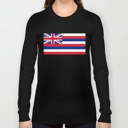 State flag of Hawaii Long Sleeve T-shirt