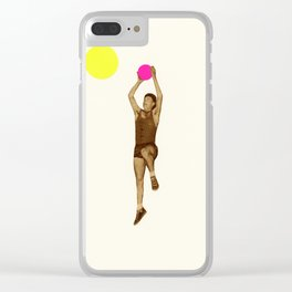 Basketball Clear iPhone Case