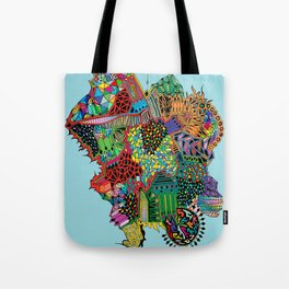 Crystalised Colour Tote Bag