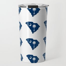 flag of south carolina 3-Savannah,Palmetto,Carolinian,Cotton,South,South carolina,Carolina Travel Mug