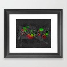 Fragments of freedom Framed Art Print