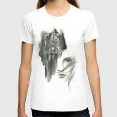 Zodiac - scorpio SMALL Womens Fitted Tee White