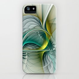 Fractal Evolution, Abstract Art Graphic iPhone Case
