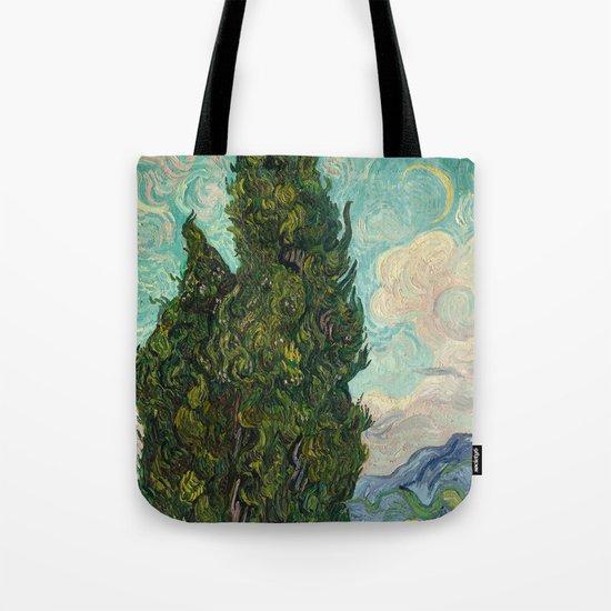 Cypresses - Van Gogh by endoferadesigns
