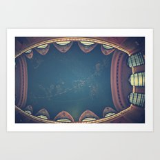 Into The Heavens  Art Print
