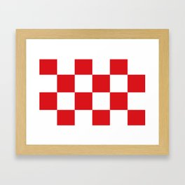 Flag of North Brabant Framed Art Print