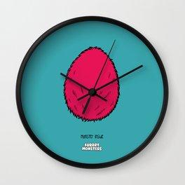 Pink Egg Wall Clock