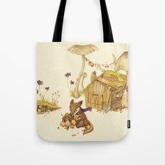 Harvey the Greedy Chipmunk Tote Bag