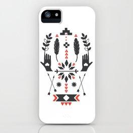 Norwegian Folk Graphic iPhone Case
