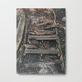 Old broken bridge Metal Print