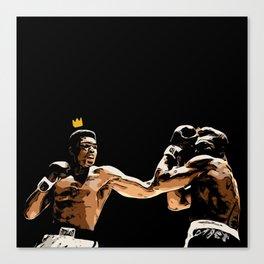 Ali Forever Canvas Print