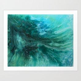 Streams of Water Art Print