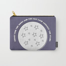 Shoot For The Moon Carry-All Pouch