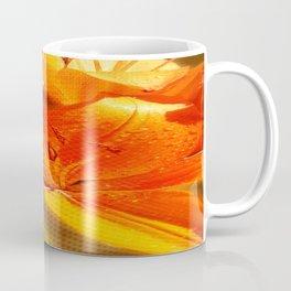 Orange Lilies with Texture 01 Coffee Mug