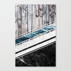 Striped Materials of Nature I Canvas Print