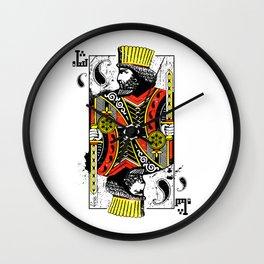 King of Persis Wall Clock