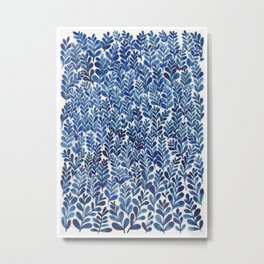 Indigo blues Metal Print