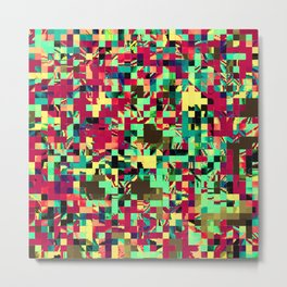 Pixelated 1 Metal Print