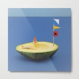 Avocado boat Metal Print