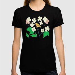 Yellow Warbler + Dogwood T-shirt