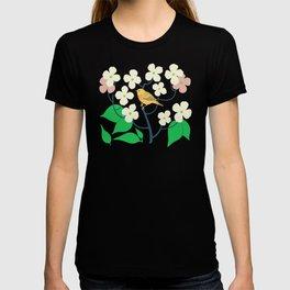 Yellow Warbler + Dogwood T-shirt