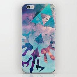 Watercolored Hylian Crest iPhone Skin