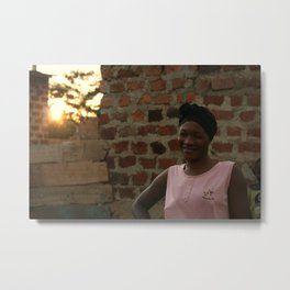 Kampala sunset Metal Print