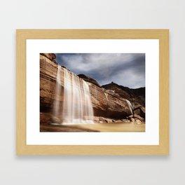 A Waterfall in Arizona? Framed Art Print
