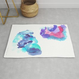180802 Beautiful Rejection 13| Colorful Abstract Rug