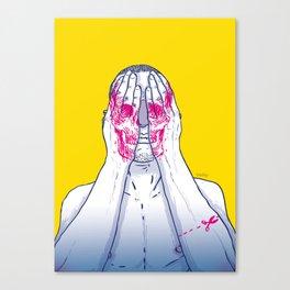 Skin - Head Canvas Print