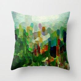 City Park Throw Pillow