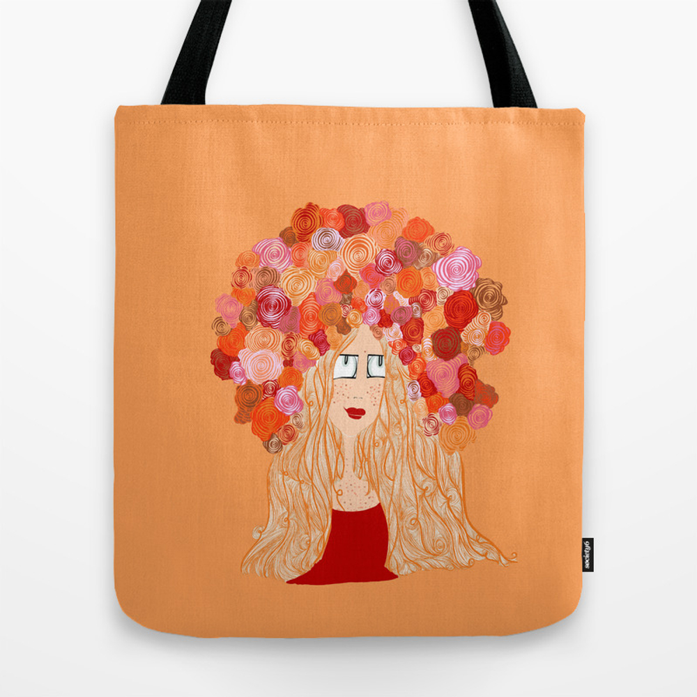 Red Tote Purse by Lovelyearthlings (TBG9178420) photo