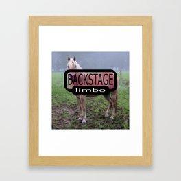 Pixel Horse BSL Framed Art Print