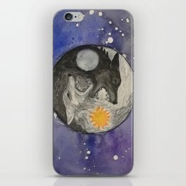 Skoll and Hati iPhone Skin
