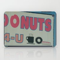 donuts iPad Cases featuring Donuts by Ink and Paint Studio