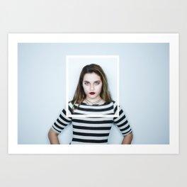 Glitches in Perception Art Print