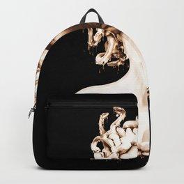 Bronze Medusa Backpack