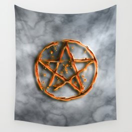Supernatural devil's trap Wall Tapestry