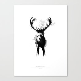Noble Ghost Canvas Print