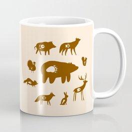 Nature Trail in Coffee and Cream Coffee Mug