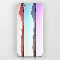 skyline iPhone & iPod Skins featuring Skyline by Augustina Trejo