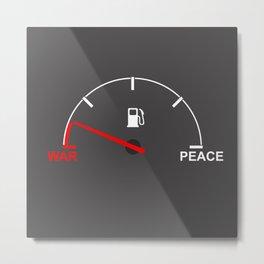 Peacemter Metal Print