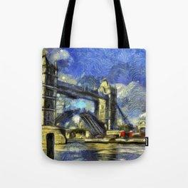 Tower Bridge and the Waverley Art Tote Bag